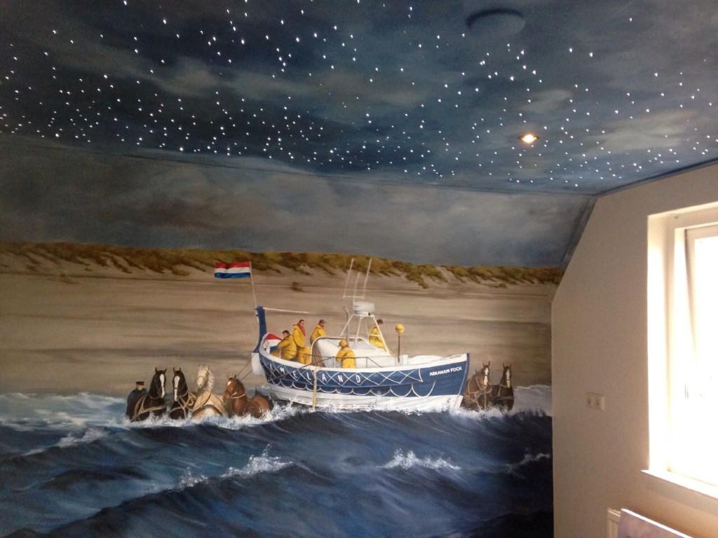 Promofilmpje van Happynes, waar een aantal muurschilderingen in te ...